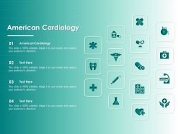 American Cardiology Ppt Powerpoint Presentation Model Example Introduction