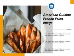 American Cuisine French Fries Image