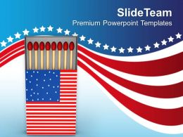 american_flag_matchbox_powerpoint_templates_ppt_themes_and_graphics_0513_Slide01