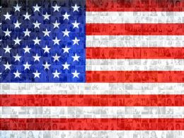 American Flag Photo Mosaic Fourth Of July Collage Example Of PPT