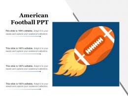 American Football Ppt