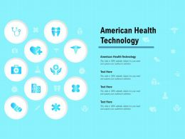 American Health Technology Ppt Powerpoint Presentation Inspiration Portrait