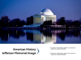 American History Jefferson Memorial Image