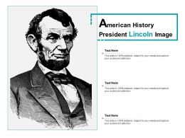 American History President Lincoln Image