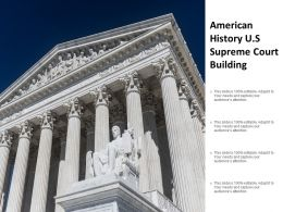 American History Us Supreme Court Building