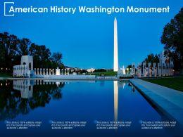American History Washington Monument