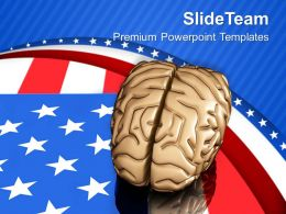 Americans Are Very Intelligent PowerPoint Templates PPT Themes And Graphics 0713