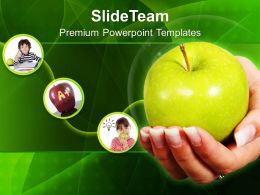 An Apple A Day Keeps Doctor Away Powerpoint Templates Ppt Themes And Graphics 0313
