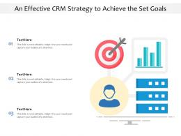 An Effective CRM Strategy To Achieve The Set Goals