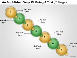 An Established Way Of Doing Task 7 Stages Free Electrical Schematic Powerpoint Slides