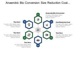Anaerobic Bio Conversion Size Reduction Coal Clean Fuels