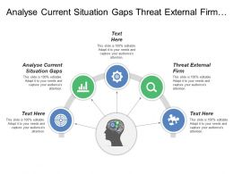 Analyse Current Situation Gaps Threat External Firm Focused