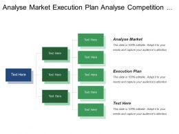 Analyse Market Execution Plan Analyse Competition Marketing Budget
