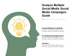 Analyse Multiple Social Media Social Media Campaigns Guide Cpb