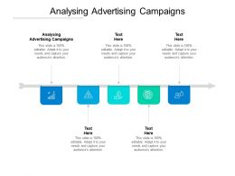Analysing Advertising Campaigns Ppt Powerpoint Presentation Gallery Show Cpb