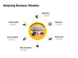 Analysing Business Situation Ppt Powerpoint Presentation Summary