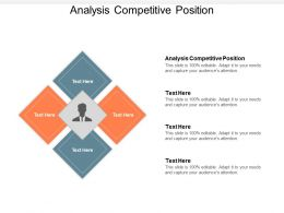 Analysis Competitive Position Ppt Powerpoint Presentation Inspiration Grid Cpb
