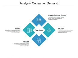 Analysis Consumer Demand Ppt Powerpoint Presentation Professional Backgrounds Cpb