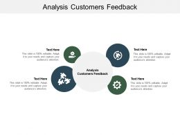 Analysis Customers Feedback Ppt Powerpoint Presentation File Tips Cpb