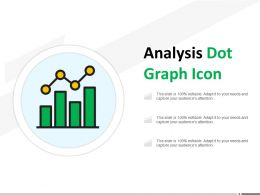 Analysis Dot Graph Icon