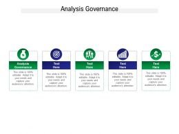 Analysis Governance Ppt Powerpoint Presentation File Slide Download Cpb