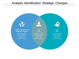 Analysis Identification Strategic Changes Ppt Powerpoint Presentation Pictures Images Cpb