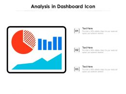 Analysis In Dashboard Icon