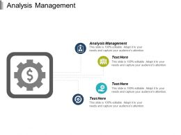 Analysis Management Ppt Powerpoint Presentation Ideas Structure Cpb