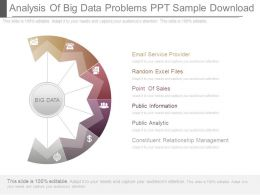 Analysis Of Big Data Problems Ppt Sample Download