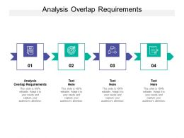 Analysis Overlap Requirements Ppt Powerpoint Presentation Templates Cpb
