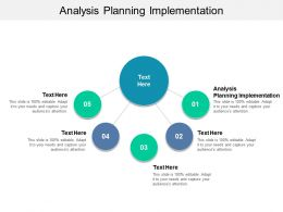 Analysis Planning Implementation Ppt Powerpoint Presentation Styles Structure Cpb