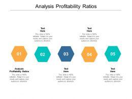 Analysis Profitability Ratios Ppt Powerpoint Presentation Deck Cpb