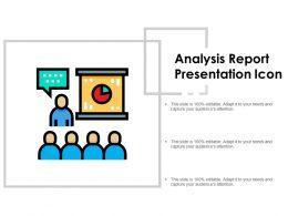 Analysis Report Presentation Icon