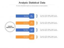 Analysis Statistical Data Ppt Powerpoint Presentation Outline Visual Aids Cpb