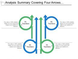 Analysis Summary Covering Four Arrows Facing Upwards