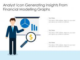 Analyst Icon Generating Insights From Financial Modelling Graphs