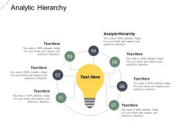 Analytic Hierarchy Ppt Powerpoint Presentation Infographic Template Diagrams Cpb