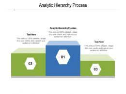 Analytic Hierarchy Process Ppt Powerpoint Presentation Summary Deck Cpb