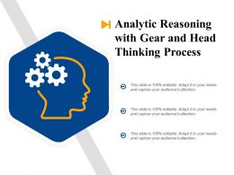 Analytic Reasoning With Gear And Head Thinking Process