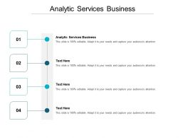 Analytic Services Business Ppt Powerpoint Presentation Model Backgrounds Cpb