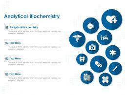 Analytical Biochemistry Ppt Powerpoint Presentation Icon Deck