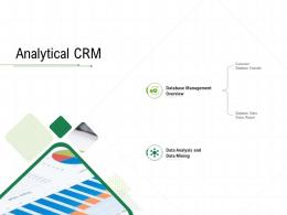 Analytical CRM Client Relationship Management Ppt Ideas Grid