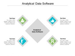 Analytical Data Software Ppt Powerpoint Presentation Inspiration Designs Cpb
