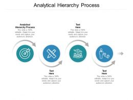 Analytical Hierarchy Process Ppt Powerpoint Presentation Styles Infographics Cpb