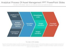 Analytical Process Of Asset Management Ppt Powerpoint Slides