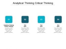 Analytical Thinking Critical Thinking Ppt Powerpoint Outline Designs Cpb