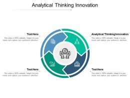 Analytical Thinking Innovation Ppt Powerpoint Presentation Outline Ideas Cpb