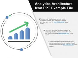 Analytics Architecture Icon Ppt Example File