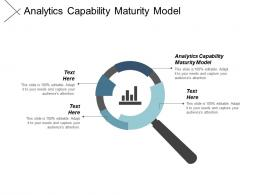 Analytics Capability Maturity Model Ppt Powerpoint Presentation Gallery Show Cpb