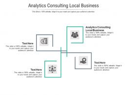 Analytics Consulting Local Business Ppt Powerpoint Presentation Ideas Outline Cpb